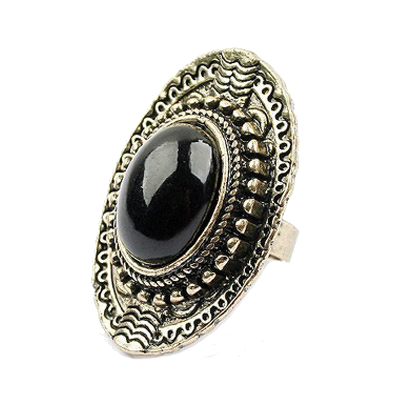 Bohemia ring adjustable black