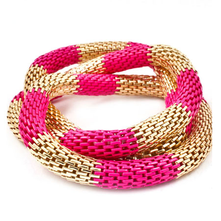 Armband stretch roze