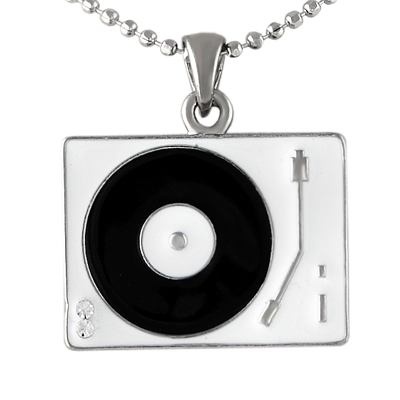 Necklace Turntable white