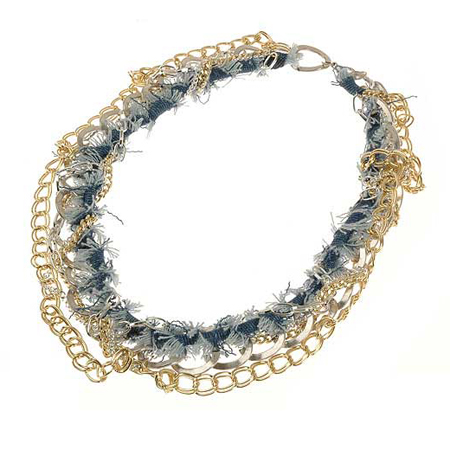 "Necklace ""Denim"""