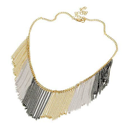 Necklace Navy blue